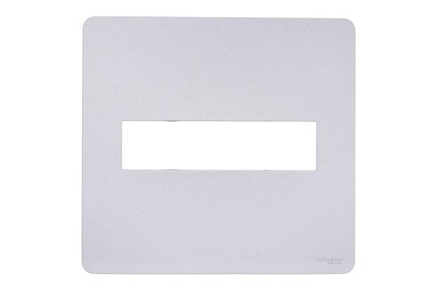 Placa 2 Postos 4x4'' Gamma Silver - Schneider