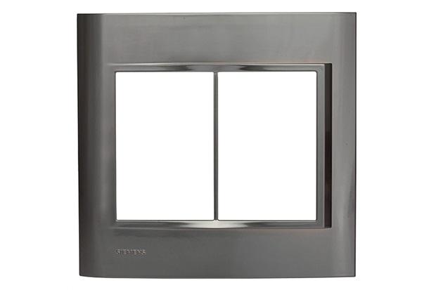 Placa 4''X4'' para 6 Módulos Vivace Onix - Siemens