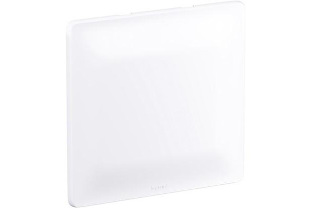 Placa 4x4 Cega Zeffia Branco - Pial Legrand