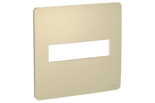Placa 4x4 com 2 Postos Orion Horizon Gold - Schneider