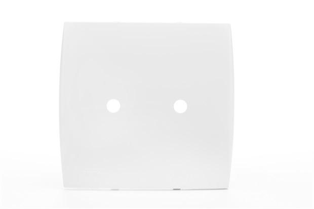 Placa 4x4 com Suporte 2 Furos Ilus Branca - Siemens