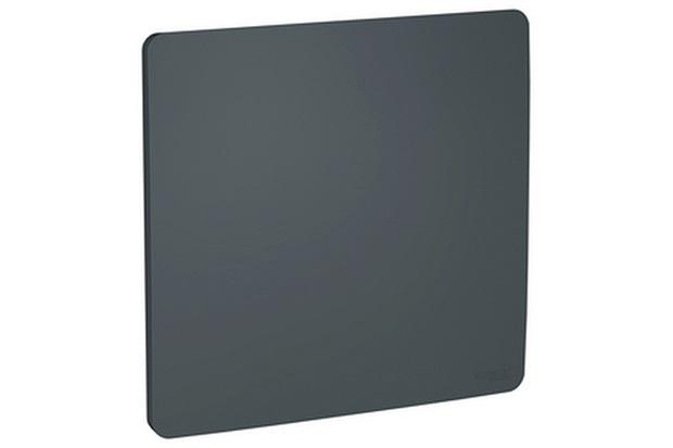 Placa Cega 4x4'' Stellar Black - Schneider