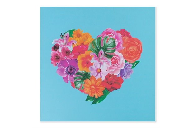Placa Decorativa em Madeira 20cm Heart - Casa Etna