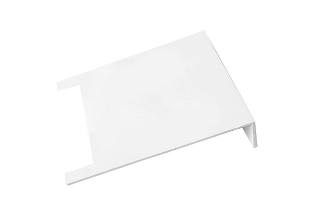 Placa Lateral em Polipropileno para Caixa Cúbica de 20x20cm Cinza - Odem