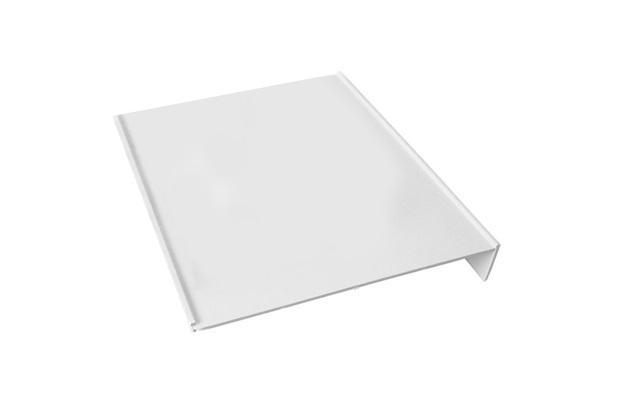 Placa Lateral em Polipropileno para Caixa Cúbica de 40x40cm Cinza - Odem