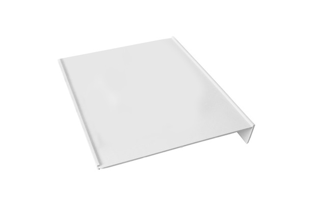 Placa Lateral em Polipropileno para Caixa Cúbica de 55x55cm Cinza - Odem