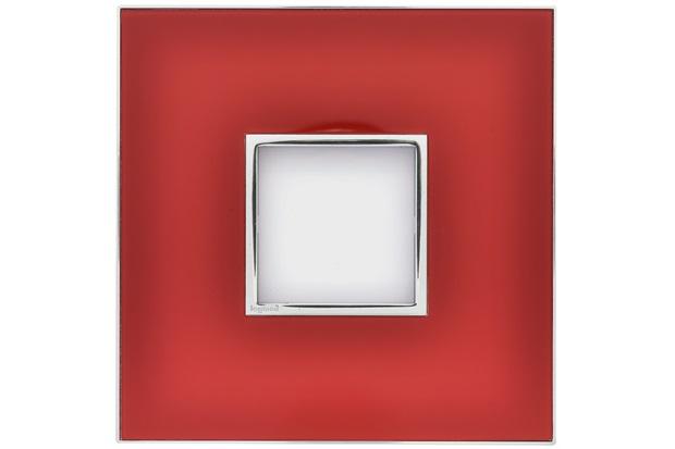 Placa para 2 Postos Arteor Mirror Red 4x4 - Pial Legrand
