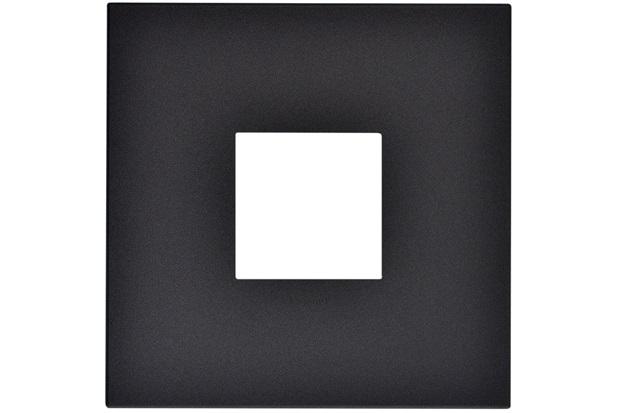 Placa para 2 Postos Arteor Pearl Alumínio 4x4 - Pial Legrand