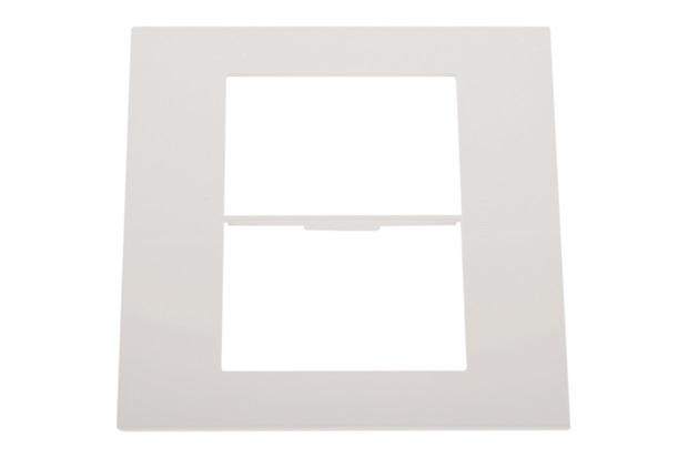 Placa para 3 Postos Separados Arteor White 4x4 - Pial Legrand