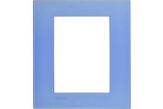 Placa para 6 Postos Quadrado 4x4 Azzurro - BTicino
