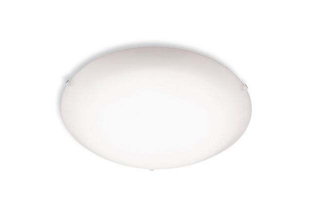 Plafon de Sobrepor Redondo para 2 Lâmpadas 30cm Branco - Blumenau