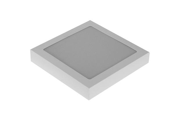 Plafon Led de Embutir 25w Bivolt 20cm Branco 6000k Luz Branca - RCG Tecnologia