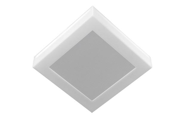 Plafon Led de Sobrepor Quadrado 26cm 16w Londres 6500k Bivolt Luz Branca - Tualux