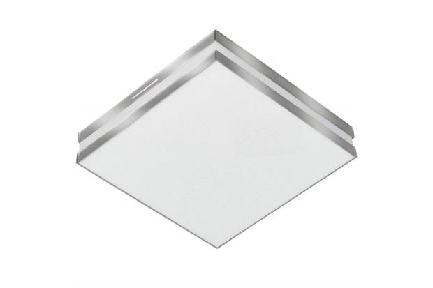 Plafon Led de Sobrepor Quadrado 36cm 25w Bilbao 6500k Bivolt Luz Branca - Tualux