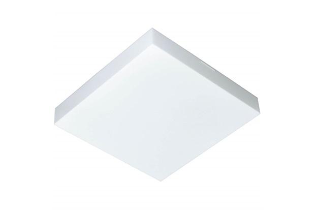 Plafon Led de Sobrepor Quadrado 36cm 25w Valencia 6500k Bivolt Luz Branca - Tualux