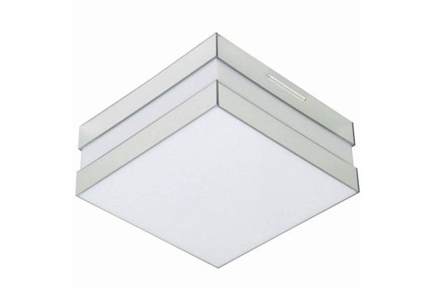 Plafon para 1 Lâmpada Bilbao Espelho Quadrado - Madrilux