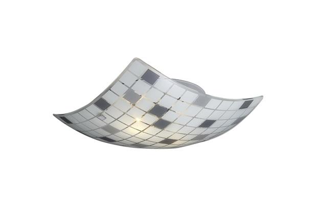 Plafon Paulistinha 30 X 30cm 2 Luzes E27 - Bronzearte