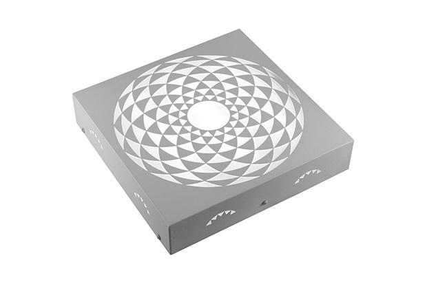 Plafon Quadrado Mosaico Romano Branco 6000k Luz Branca - RCG Tecnologia