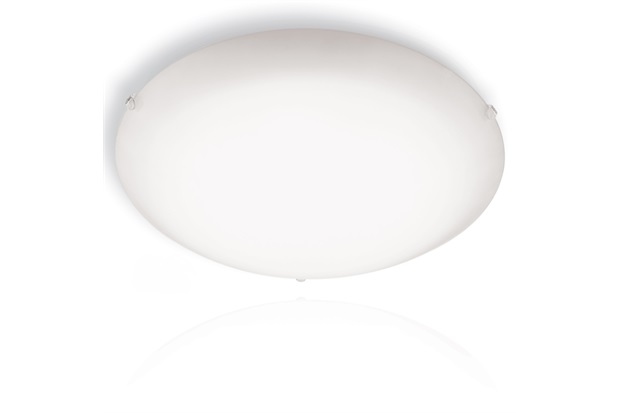 Plafon Redondo 30 Cm 20w Cristal - Blumenau