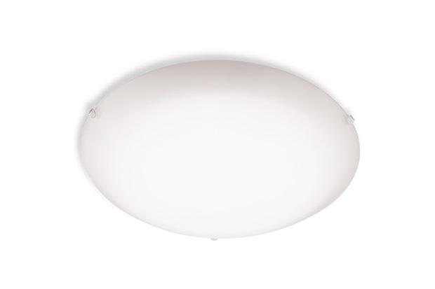Plafon Redondo Bivolt Branco 25cm  - Blumenau