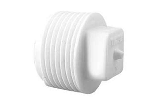 Plug com Rosca 1'' Branco - Tigre