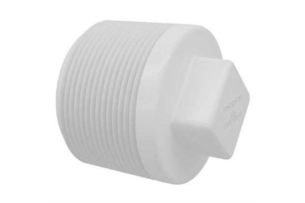 "Plug Rosca em Pvc 3/4"" Branco - Fortlev"