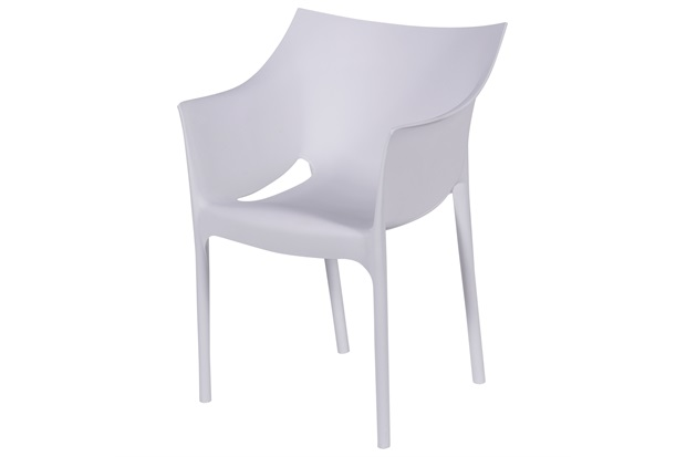 Poltrona em Polipropileno Fan Branca - Ór Design