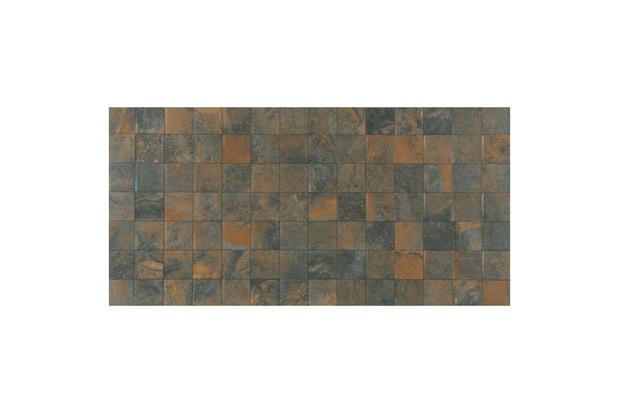 Porcelanato Acetinado Borda Reta Corten Mosaico 52x104cm - Porto Ferreira