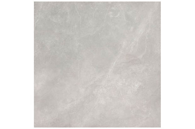Porcelanato Acetinado Borda Reta Dolmen Cinza 120x120cm - Eliane