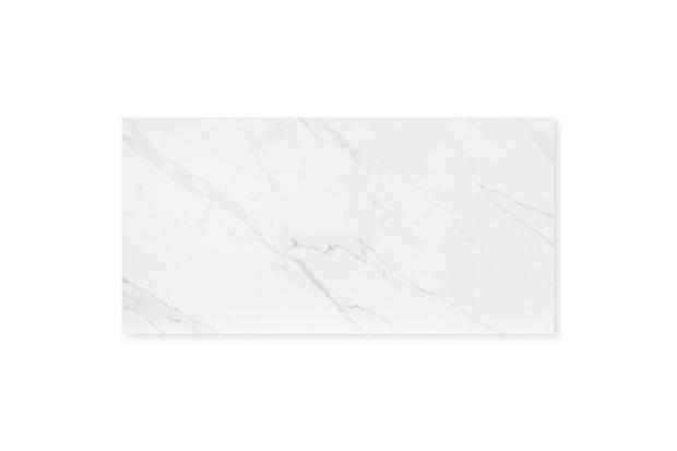 Porcelanato Acetinado Borda Reta Mont Blanc Branco 59x118,2cm - Eliane