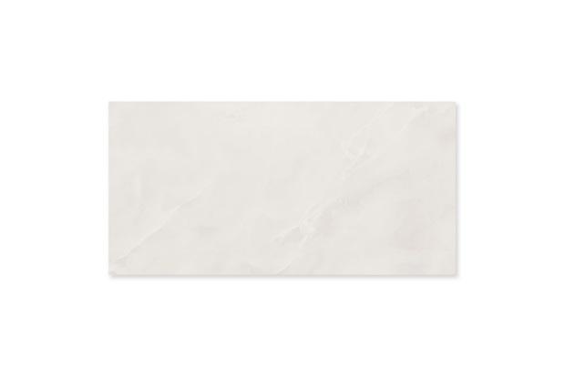Porcelanato Acetinado Borda Reta Onice Branco Envelhecido 58,4x117cm - Portinari