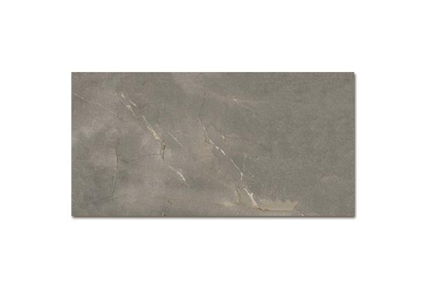 Porcelanato Acetinado Borda Reta Tenor Cinza 58,4x117cm - Portinari