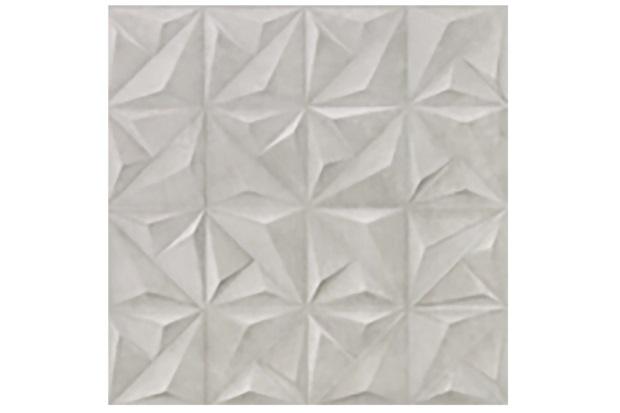Porcelanato Acetinado Matte Borda Reta Sense Abstract Soft Gray 60x60cm - Portinari