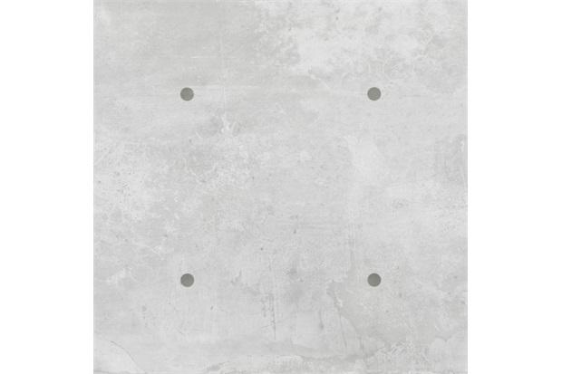 Porcelanato Acetinado Retificado Matriz Concreto Cinza 90x90cm - Eliane