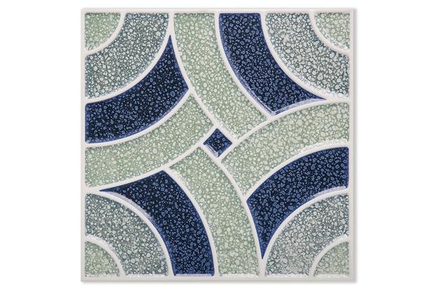 Porcelanato Brilhante Borda Bold Pixel Decor 2 20x20cm - Portinari