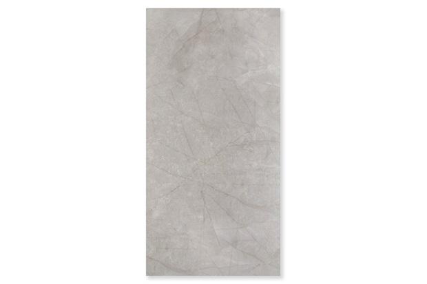 Porcelanato Brilhante Borda Reta Mare D'Autunno Cinza 60x120cm - Portobello