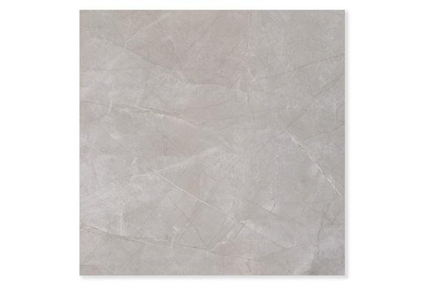 Porcelanato Brilhante Borda Reta Mare D'Autunno Cinza 90x90cm - Portobello