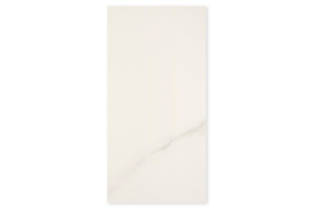 Porcelanato Brilhante Borda Reta Michelangelo Branco 60x120cm - Portobello