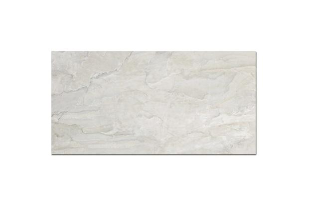 Porcelanato Brilhante Borda Reta Oasis Branco 120x60cm - Incepa