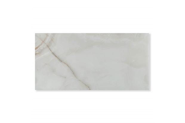 Porcelanato Esmaltado Acetinado Borda Bold Onix Cristal Bege 59x118cm - Eliane