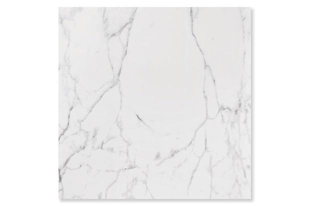 Porcelanato Esmaltado Acetinado Borda Reta Carrara Branco 120x120cm - Roca