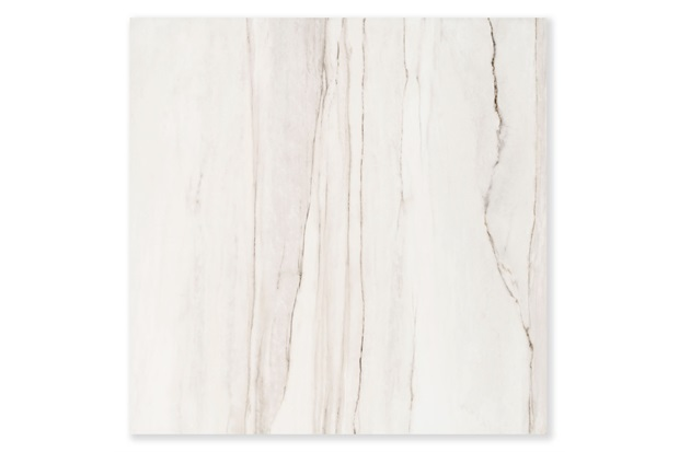 Porcelanato Esmaltado Acetinado Borda Reta Fossile Branco 90x90cm - Eliane