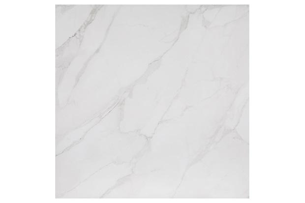 Porcelanato Esmaltado Acetinado Borda Reta Mont Blanc Branco 90x90cm - Eliane