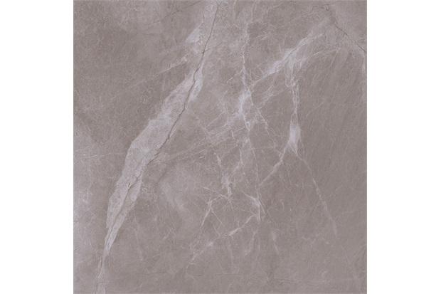 Porcelanato Esmaltado Fuji Sand Marmorizada Retificado Polido Cinza 63x63cm - Delta