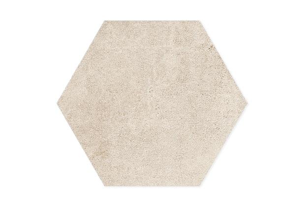 Porcelanato Esmaltado Natural Borda Bold Detroit Hexa Off White 17,4x17,4cm - Portinari