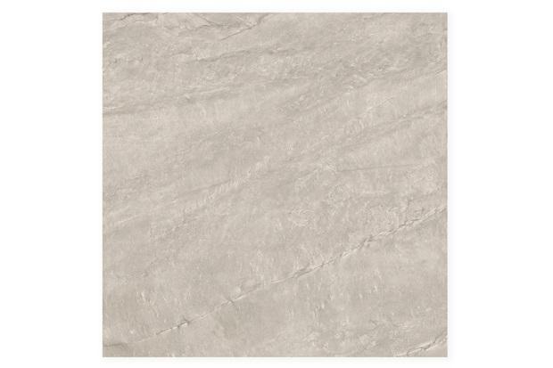 Porcelanato Esmaltado Natural Borda Reta Geographic Gray 100x100cm - Portinari