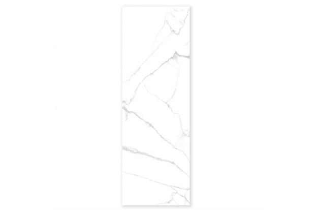 Porcelanato Esmaltado Polido Borda Reta Lumina Branco 80x240cm - Eliane