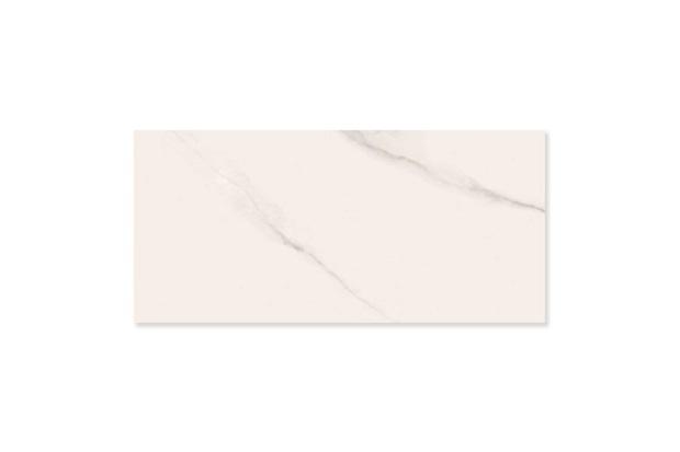 Porcelanato Esmaltado Polido Borda Reta Michelangelo Branco 120x270cm - Portobello