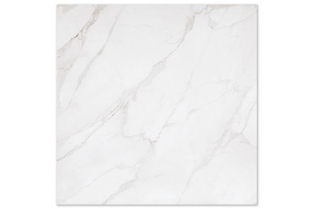 Porcelanato Esmaltado Polido Borda Reta Mont Blanc Branco 90x90cm - Eliane