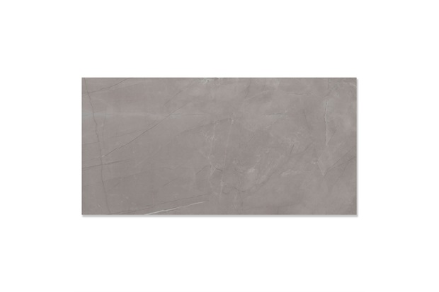 Porcelanato Esmaltado Polido Borda Reta Pulpis Gray 59x118,2cm - Eliane